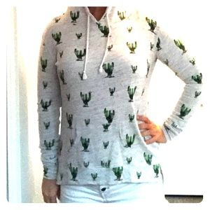 Stretchy Cozy Cactus Hoodie